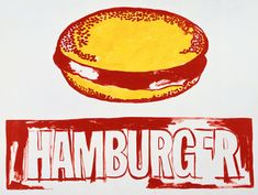 Hamburger, 1985-1986 | Andy Warhol (American, 1928-1987) | © The Andy Warhol Foundation for the Visual Arts, Inc. #popart #warhol