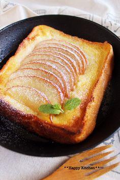 トースターで*乗せて焼くだけオープンアップルパイ風フレンチトースト | たっきーママ オフィシャルブログ「たっきーママ@happy kitchen」Powered by Ameba