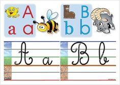 Abécédaire : référent écriture pour la classe (FRANÇAIS)