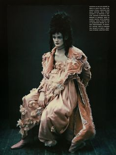 """Cool Chic Style Fashion: """"So Splendid and Magic"""" by Paolo Roversi for Vogue Italia Supplement, March 2005"""