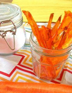 Salt and Vinegar Carrot Chips #ohheckyes