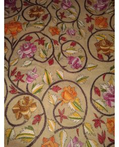 Craftsmen of india, Kantha Dupatta, Indian dupatta , Handicraft, work Dupatta, Nokshi dupatta, Nokshi kantha Dupatta, Hand-embroidery dupatta, katha Dupatta Buy This at www.luxurionworld.com