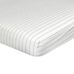 """Perfect for your Baby and Nursery Just Born Boys and Girls Newborn Infant Baby Toddler Nursery Sateen Cotton Bedding Fitted Crib Sheet, Navy/Pink/Beige Stripes, One Size,Just Born Boys and Girls Newborn Infant Baby Toddler Nursery Sateen Cotton Bedding Fitted Crib Sheet, Navy/Pink/Beige Stripes, One Size, includes one crib sheet fitted corners for a snug fit 52"""" x 28"""",..."""