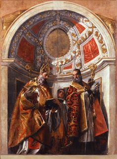 Santi Geminiano e Severo (1560; Modena, Galleria Estense)