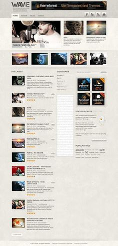 ThemeForest - Wave: A Video Centric Theme for WordPress