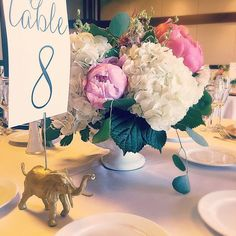 Event table number holders gold animals for weddings baby
