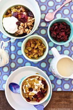 Cinnamon Eggnog Oatmeal | @Marla Meridith
