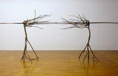 Guiseppe Penone - Musée de Grenoble Pelle di foglie - Sguardo incrociato [Peau de feuilles - Regard croisé], 2006 Bronze