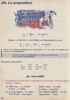 French Education, French Grammar, French Lessons, Teaching French, Learn French, Disney Drawings, Book 1, Vocabulary, Learning