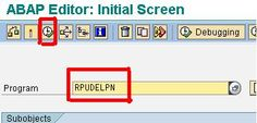 How to Delete a Personnel Number? sap hr personnel administration