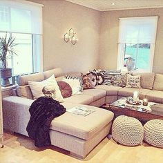 <3 I want a sectional. There is nothing like snuggles on a big couch!!!