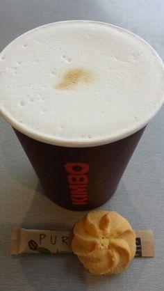 Latte blanco?! bij IJspressi Oostvaarders