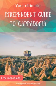 Ultimate Independent Guide to Cappadocia – Let's get lost in the world! Backpacking Europe, Europe Travel Guide, Travel Abroad, Asia Travel, Travel Guides, Travel Hacks, Turkey Destinations, Europe Destinations, Antalya