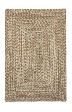 Colonial Mills CA Corsica Braided Moss Green Rug | Casual Rugs