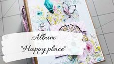 "Album ""Happy place"" Mintay Papers scrapbooking   Co ja narobiłam! Baby Scrapbook, Mini Albums, Scrapbooking, Paper, Fun, Instagram, Youtube, Scrapbooks, Extended Play"