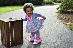 Curiosities Skirted Romper #ricracandruffles #baby