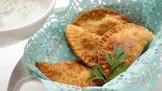 Receta de Empanadillas de la huerta con salsa de queso