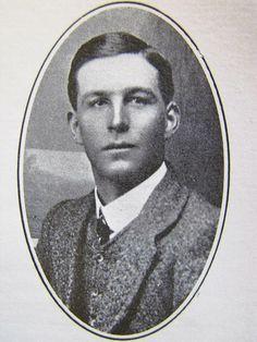 Danie de Wet, seun van genl. C.R.De wet. Danie sneuwel op die 8ste November 1914 tydens die Rebellie van 1914.