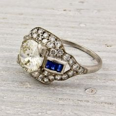#Ring #Inspiración en #Azul para tu #Boda