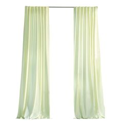 Martha Stewart Living Cream Outdoor Back Tab Curtain-1624454 - The Home Depot