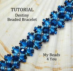 Step by step tutorial for my Destiny beaded bracelet. Tutorial includes 16 pages of detailed photos and step by step instructions to create this beautiful bracelet. You can use the beads and colors that are shown or do your own thing. The bracelet measures the length you make it X 5/8 inch wide. This bracelet will stand out. ** instructions also include how to make an X design on the bracelet face resembling a hugs and kisses bracelet .** Oh yes you can! Give it a try, this would make ...