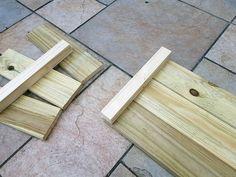 DIY : fabriquer une jardinière en bois pour le jardin Bois Diy, Bamboo Cutting Board, Diy Nature, Texture, Wood, Crafts, Construction, Crochet, Window Boxes