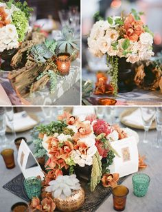 love everything about this wedding!