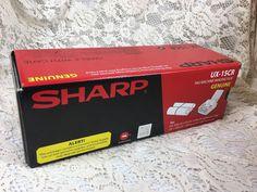SHARP - UX-15CR Fax Machine Imaging Film - Genuine - Sealed in plastic. Unused, factory seal. | eBay!