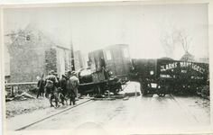original photograph Accident on the Wantage Tramway Oxfordshire date unknown in Collectables, Transportation, Railwayana | eBay