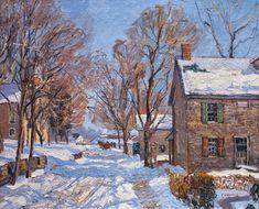 Edward Willis Redfield   Impressionist Landscape painter   Tutt'Art@   Pittura • Scultura • Poesia • Musica