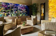 Großartig Aquarium Eirichten Design Atmosphäre Einrichtungsbeispiele Wandgestaltung  Teuer
