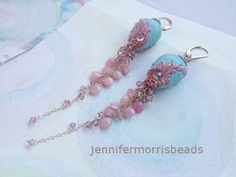 fimo/polymer clay pastele earrings