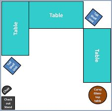 Image result for 10x10 craft booth layout ideas