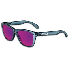 Oakley Frog Skins Sunglass - Men's - Polished Clear/Violet Iridium