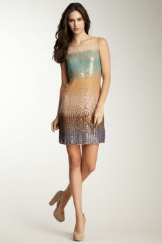 Sequin dresses for New Year's Eve