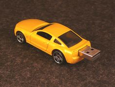 2GB  2005 Ford Mustang Flash Drive by dhhdesign on Etsy, $20.00
