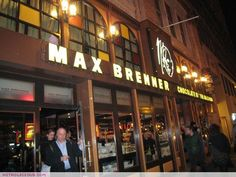 Max Brenner's: ENOUGH SAID, obsessed with this place
