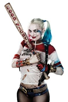 Harley Quinn - Trasparent by on DeviantArt Harley Quinn Tattoo, Harley Quinn Drawing, Harley Quinn Comic, Joker And Harley Quinn, Harle Quinn, Suicide Squad, Kings & Queens, Margot Robbie Harley Quinn, Animation