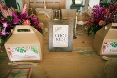 Kids boxes for wedding | Anna Kim Photography