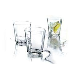 Eva Solo - Szklanka 250 ml 6 szt. - komplet. szkło stołowe, woda z lodem, kostki lodu, wakacje, woda z cytryną orzeźwiający napój