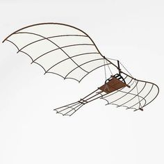 Leonardo Da Vinci Flying Machine | 3D model: Leonardo da Vinci flying machine. $49.95 [buy, download]