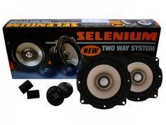 Kit 2 Vias Tweeter e Mid Range 5 Pol. 100W RMS - Selenium Kit two way 52V2A