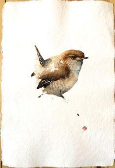 Karl Martens, Wren (Unframed) | Cricket Fine Art