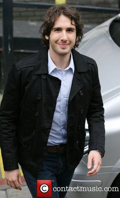Josh Groban outside the ITV studios London, England...