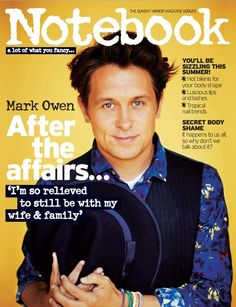Mark Owen is still enough to make us squeal. Sigh