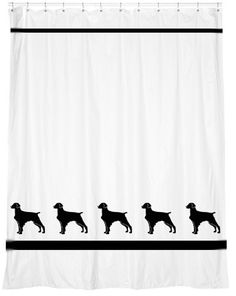 Our original design is on a high quality 100% polyester shower curtain with your choice ribbon trim. Perfect in your bath! Measures 72 x 70.