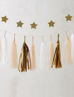 Guirlande tassels - my little day® - nude, Maison Deco Originale, Decoration, Kids Bedroom, Tassel Necklace, Tassels, Happy Birthday, Tapestry, Diy, Inspiration