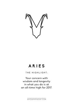 Happy 2017, Aries! This year promises to be a very powerful one for you indeed. Letting go of any disempowering habits is a theme that will take the forefront of your life—you have a big mission...
