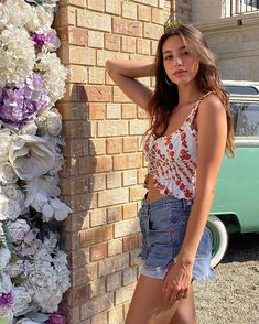"Celine Farach on Instagram: ""Everything with flowers please 🌸"""