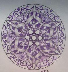 deviantART: More Like Zentangle Dare #6 (2) by staceysmile